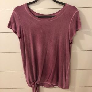 American eagle tied tee